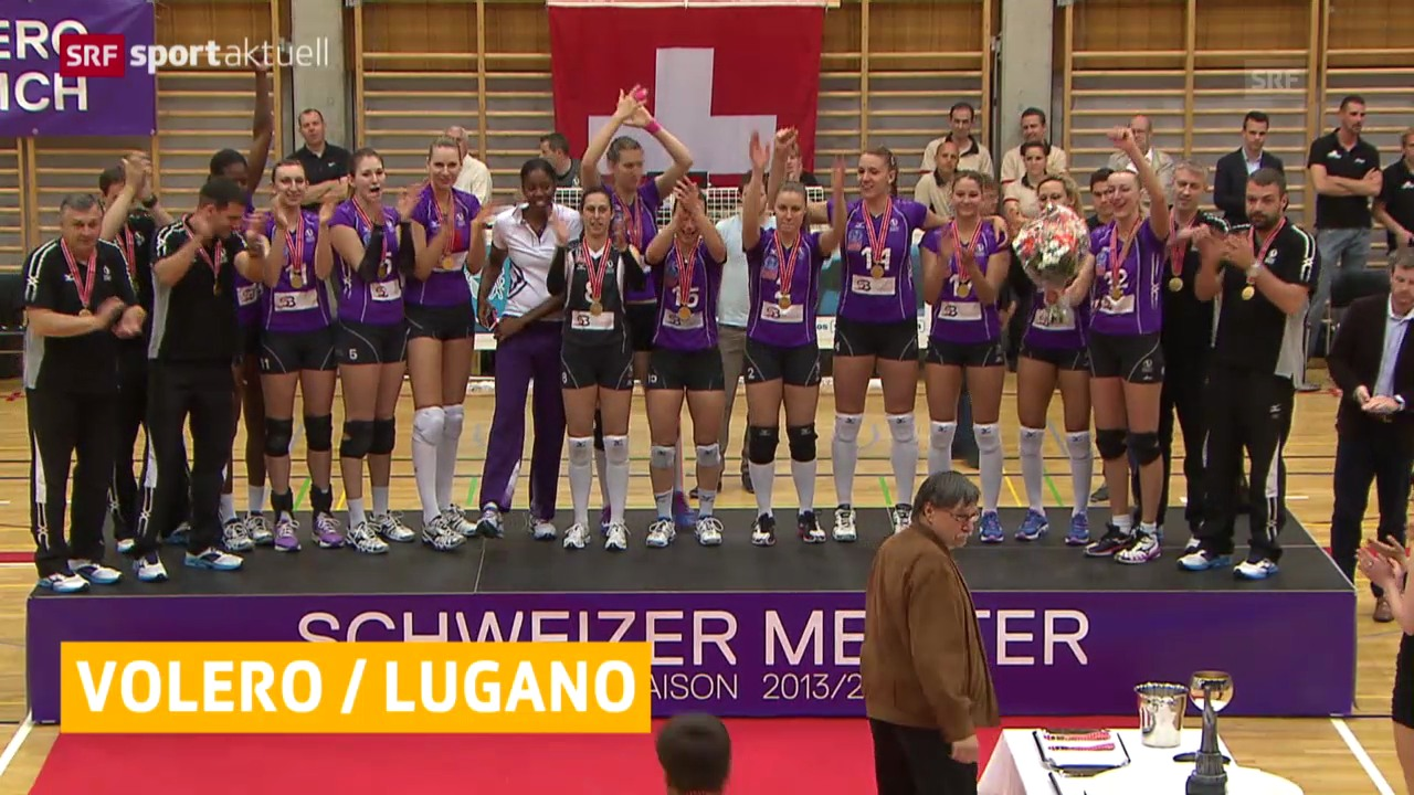 Volero und Lugano sind Meister («sportaktuell»)