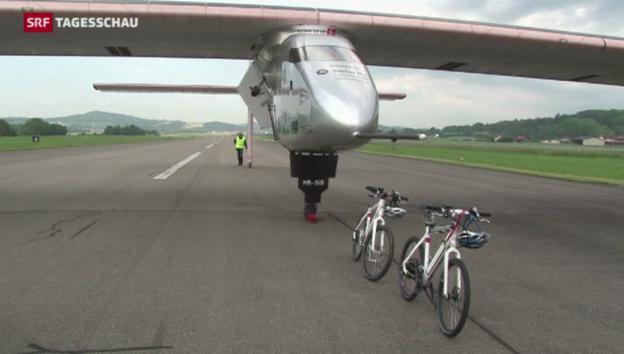Video ««Solar Impuls 2» gelingt Jungfernflug» abspielen