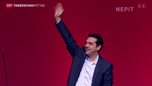 Video «Die Sorgen in Brüssel wegen Griechenland» abspielen