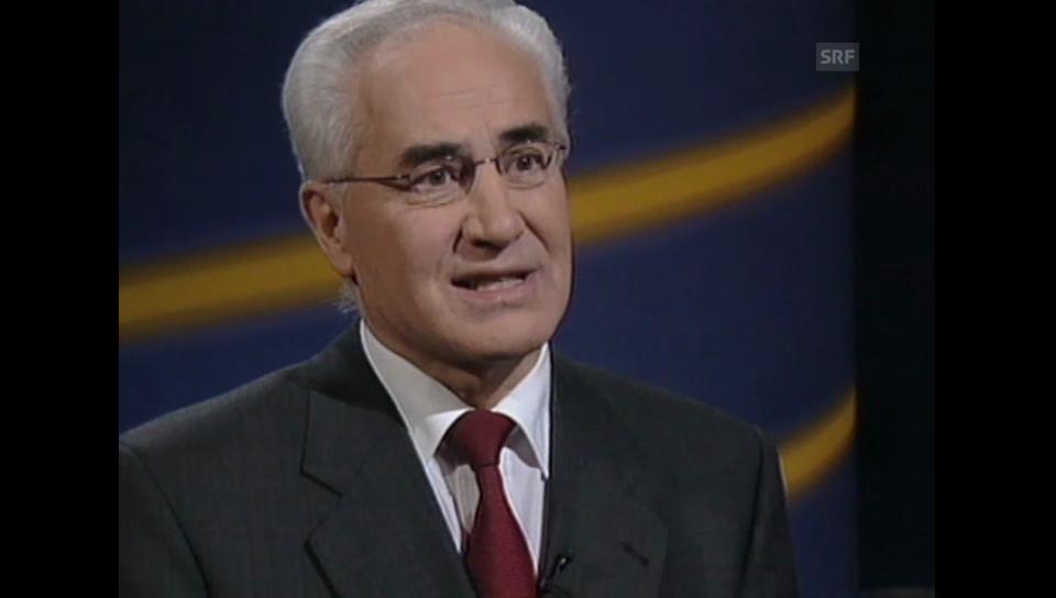 2001: Studiogespräch mit Guido A. Zäch