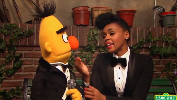 Video «Janelle Monae macht den Muppets Mut» abspielen