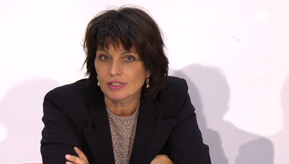 Bundesrätin Leuthard: «Betriebsaufnahme vor 2020 ist nicht realistisch»