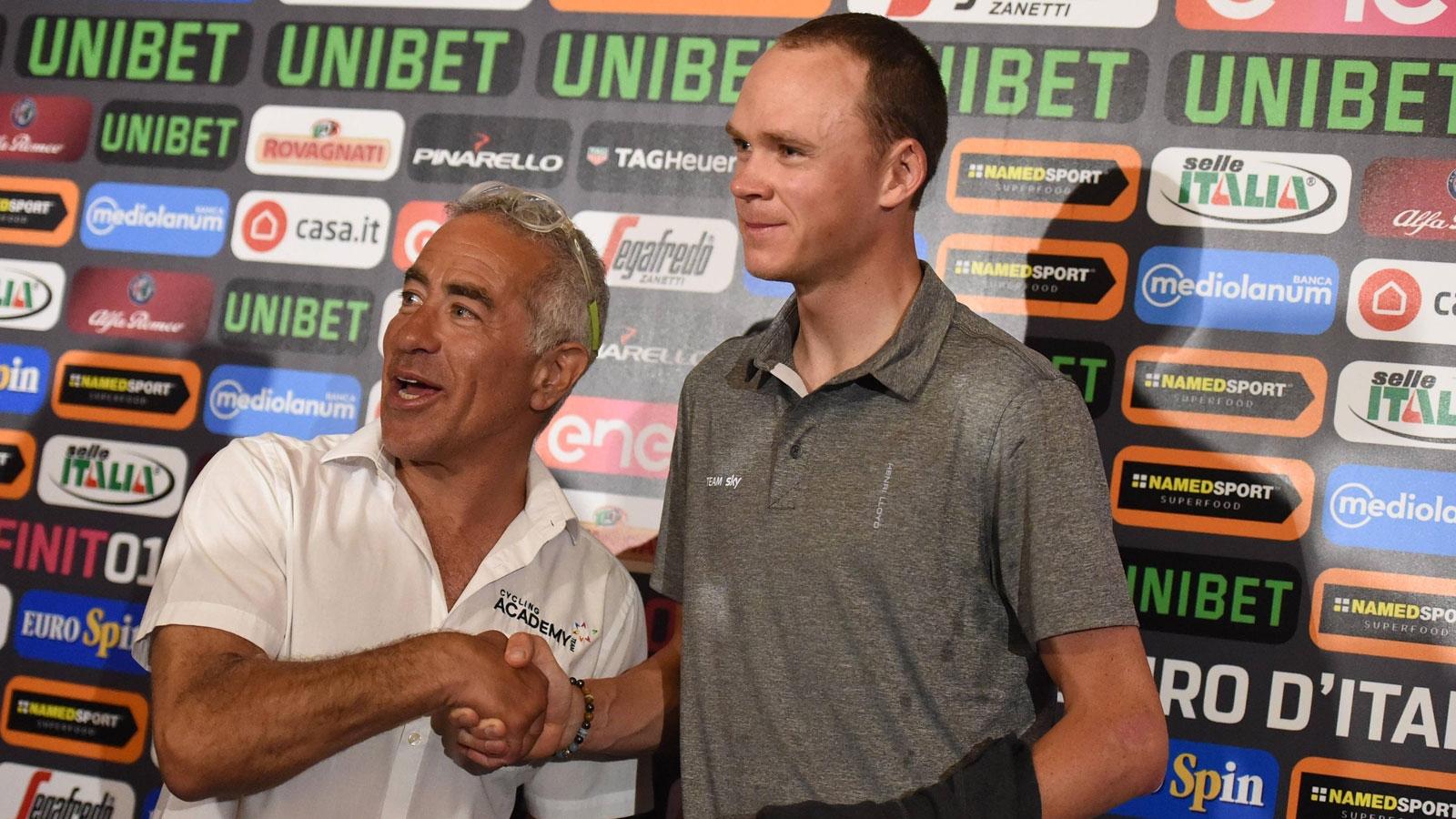 Der Mann, der den Giro nach Israel brachte (Radio SRF)