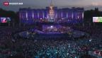Video «Paléo-Festival im Morast» abspielen
