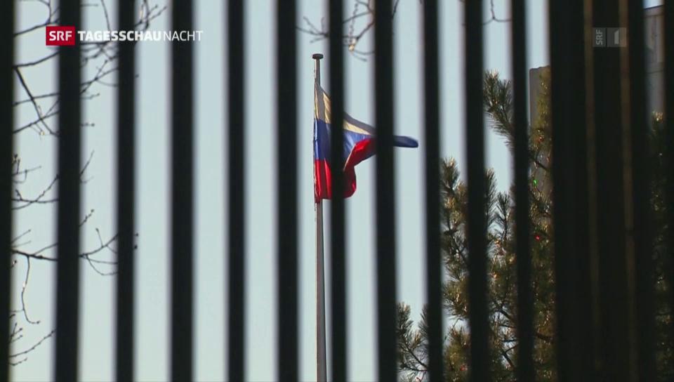 USA weisen 35 russische Diplomaten aus
