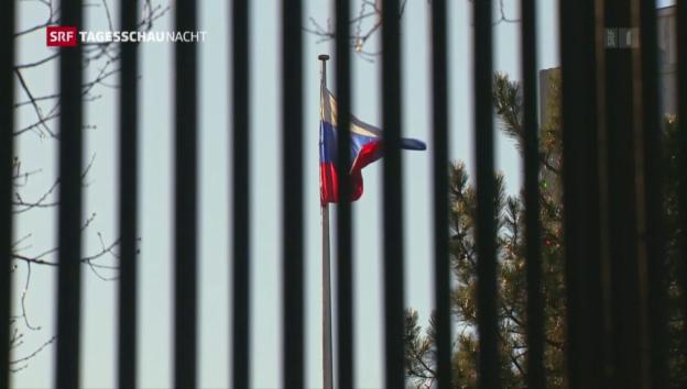 Video «USA weisen 35 russische Diplomaten aus» abspielen
