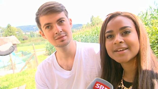 Video «Djoa Strassburg und Georg Keller über ihre Beziehung» abspielen