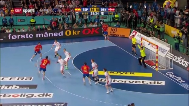 Video «Handball: WM-Final Spanien-Dänemark» abspielen