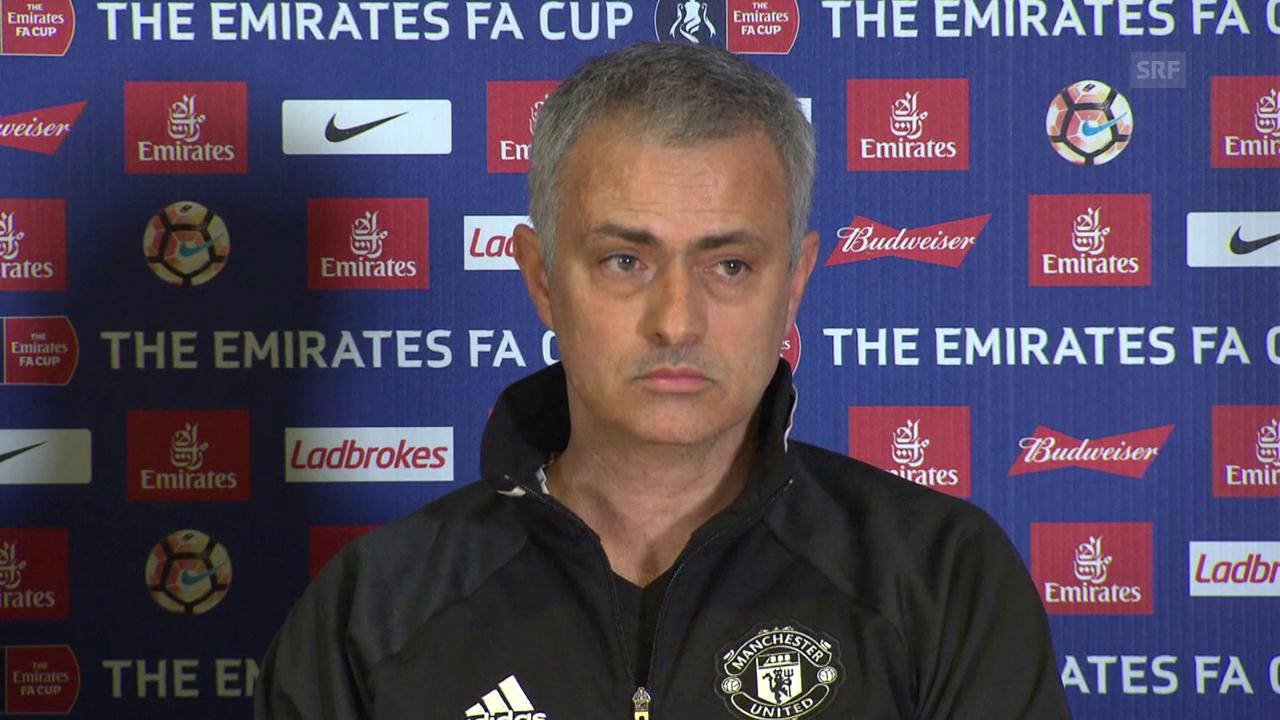 Mourinhos Antwort auf die Beleidigungen (SNTV, engl.)