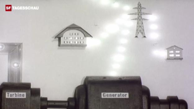 Video «Hoffnungen ruhen auf AKW Lucens» abspielen