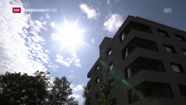 Video «Hotels für Langzeitgäste (Tagesschau am Mittag vom 24. Juli 2016)» abspielen