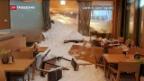 Video «Hotel verschüttet bei Lawinen-Niedergang» abspielen