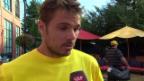Video «Tennis: Interview mit Stanislas Wawrinka» abspielen