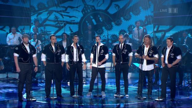 Video ««Blueme» ist der emotionalste Song bei «Ich schänke dir es Lied»» abspielen