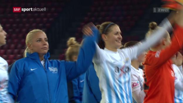 Video «Die FCZ-Frauen gewinnen gegen Graz erneut zu Null» abspielen