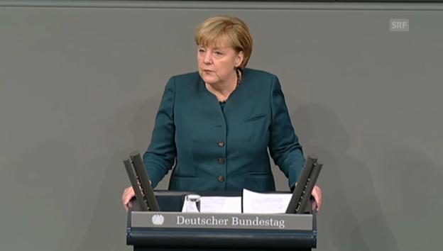 Video «Merkel sieht «erste Zeichen der Hoffnung»» abspielen