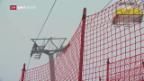 Video «Kein Training in St. Moritz und Vorfreude bei Gut» abspielen