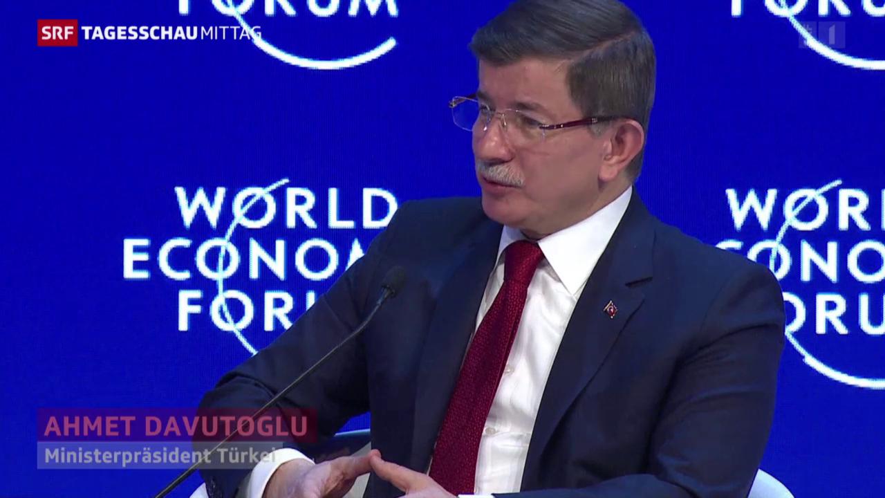 Davutoglu: «Wir betteln nicht um Geld bei der EU»