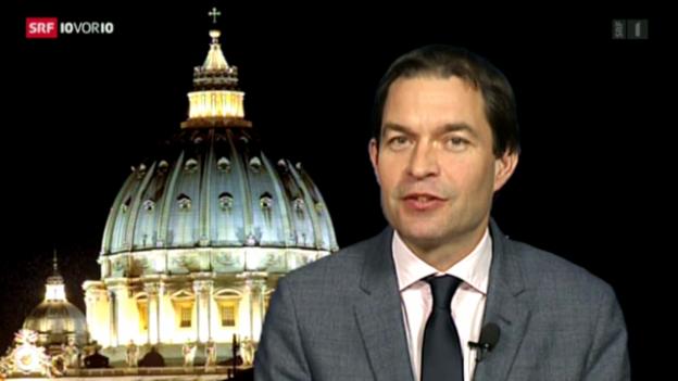 Video «Einschätzungen von Philipp Zahn, Rom» abspielen