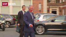 Link öffnet eine Lightbox. Video Prinz Charles nimmt Älterwerden mit Humor abspielen