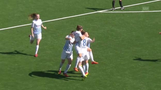 Video «Die beiden Tore bei Neunkirch gegen den FCZ» abspielen