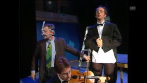 Video «Kunstfurzer bei Frank Baumann in «Ventil» (1999)» abspielen