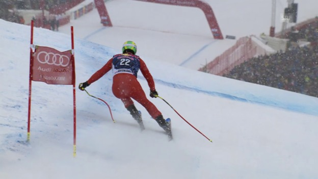 Video «Ski alpin: Weltcup Männer, Abfahrt Kitzbühel, Fahrt Paris» abspielen