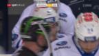 Video «Freiburg gerät gegen ZSC früh ins Hintertreffen» abspielen