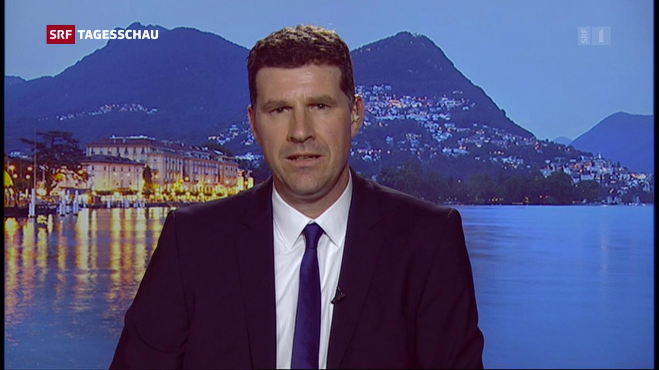 Einschätzungen der SRF-Korrespondenten in Bern und Lugano