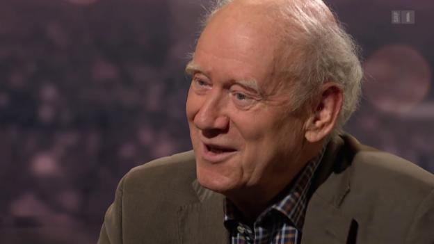Video «Gast: Franz Hohler, Schriftsteller» abspielen