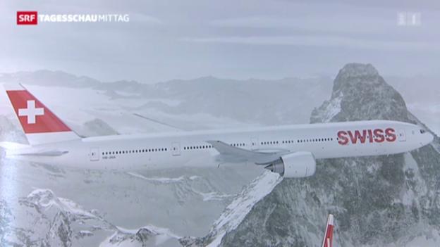 Video «Swiss bestellt neue Flugzeuge» abspielen