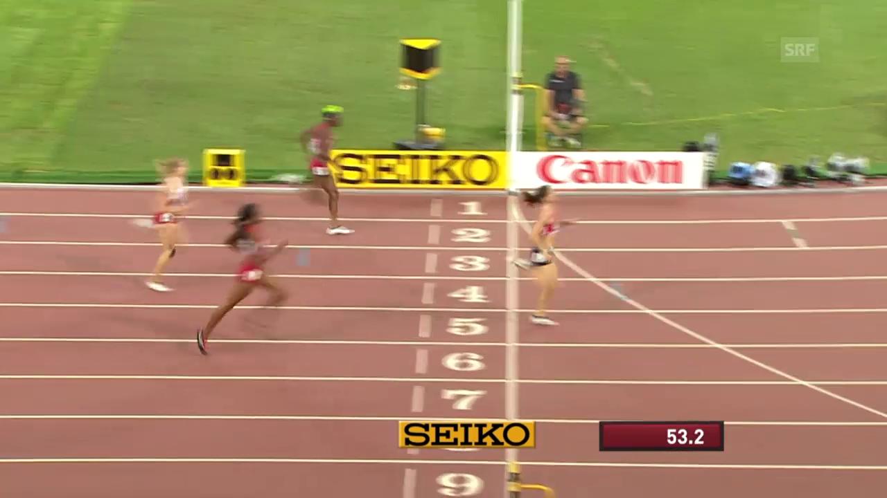 LA: WM in Peking, 400 m Hürden Frauen