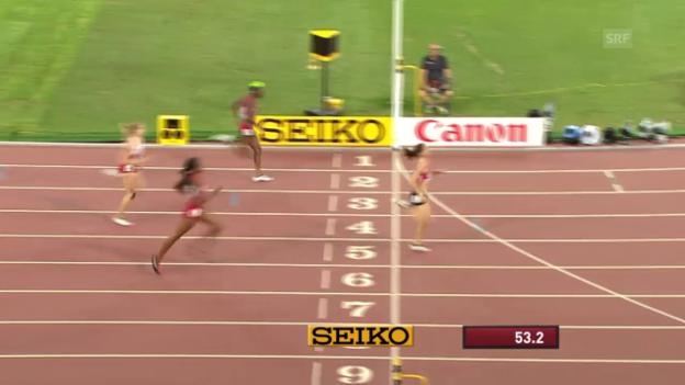 Video «LA: WM in Peking, 400 m Hürden Frauen» abspielen