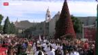 Video «Heiligabend in Betlehem» abspielen