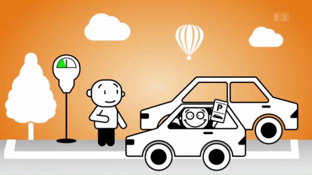 Video ««Darf man das?»: Das Parkticket weitergeben?» abspielen