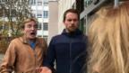 Video «Stefan Büsser und Manu Rothmund treffen Horror-Clown» abspielen