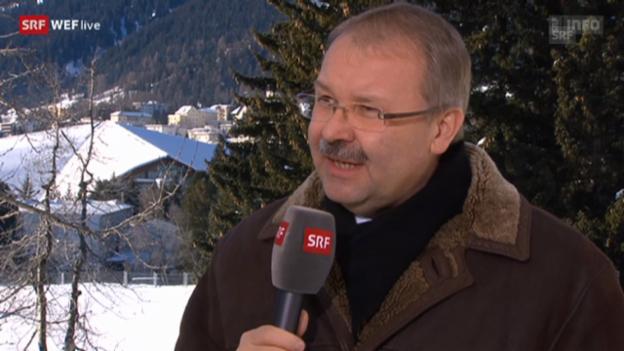 Video «WEF-Direktor Alois Zwinggi über das Programm am Samstag» abspielen