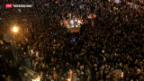 Video «Proteste zum Jahrestag in Ägypten» abspielen