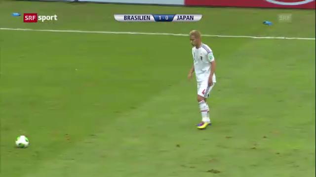 Spielbericht Brasilien - Japan («sportaktuell»)
