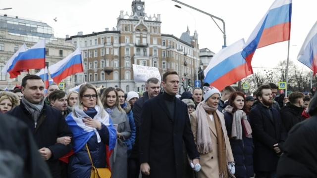 Aus dem Archiv: Der Prozess gegen Nawalnys Organisation beginnt