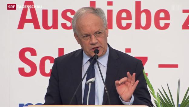 Video «Schneider-Amman nimmt Stellung» abspielen