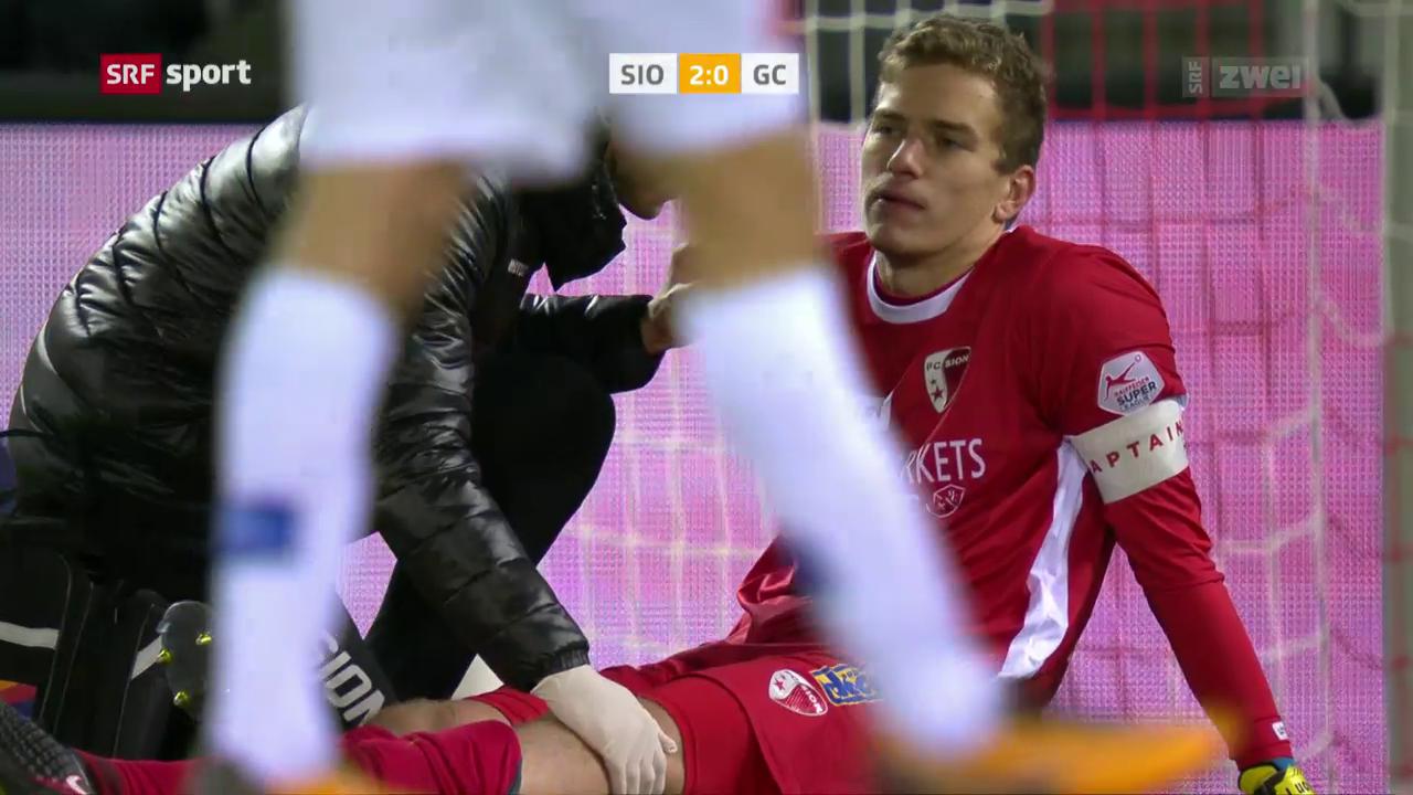 Mitrjuschkin verletzt sich gegen GC