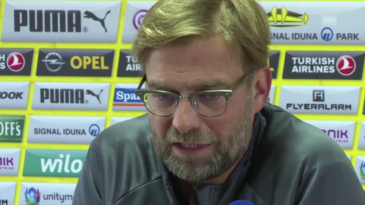 Fussball: Jürgen Klopp im Interview