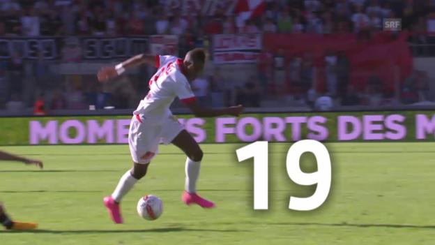 Video «Fussball: Embolo und Fernandes - zwei Juwelen im Duell» abspielen