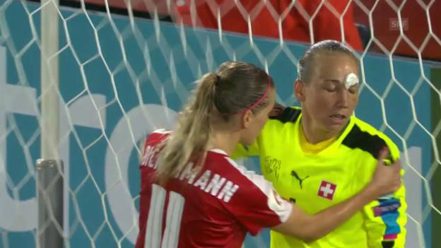 Video «Live-Highlights Schweiz - Frankreich» abspielen