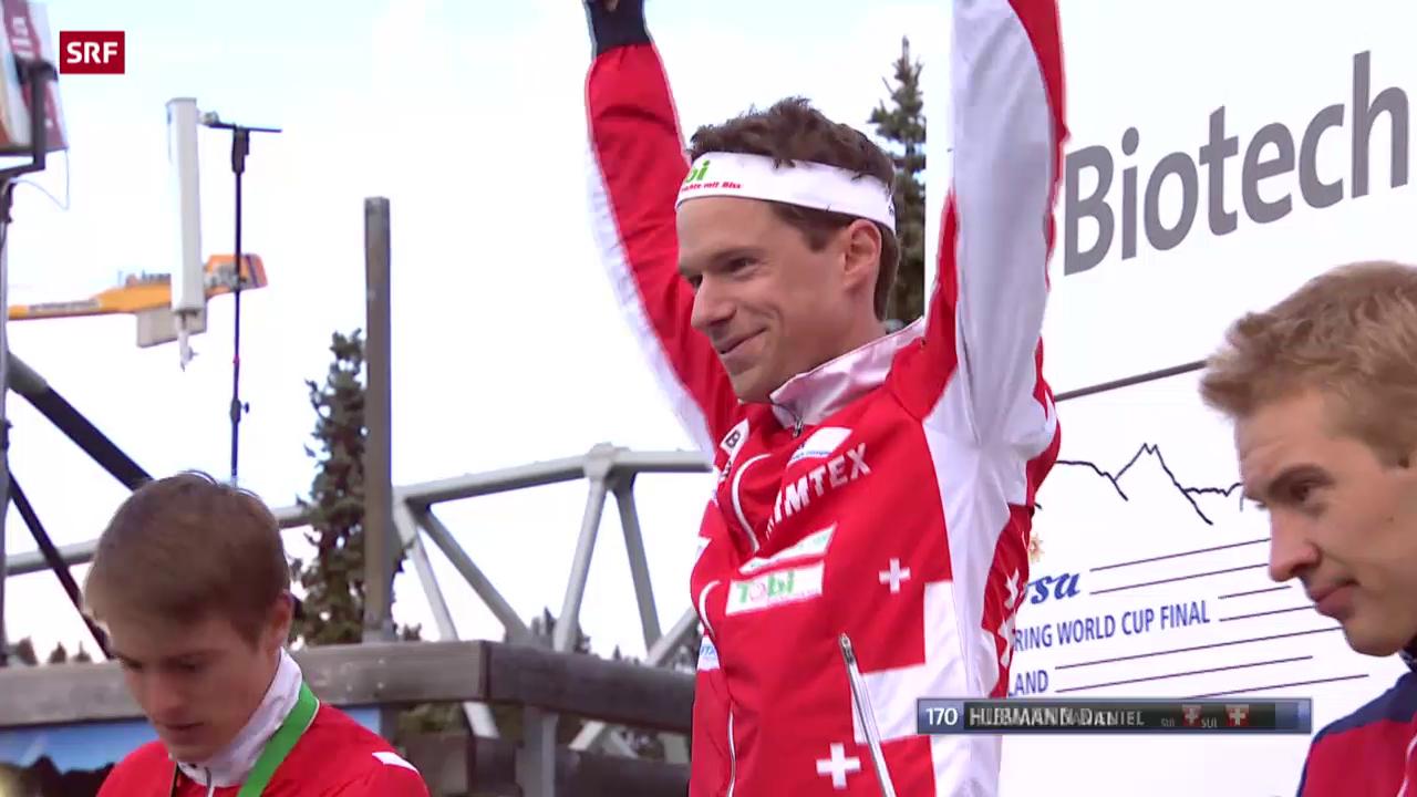 OL: Weltcup-Final in Arosa, Mitteldistanz