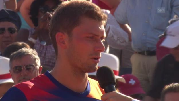 Video «Platz-Interview mit Daniel Brands» abspielen