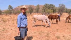 Link öffnet eine Lightbox. Video «Reporter Sélection» Allein im Outback abspielen.