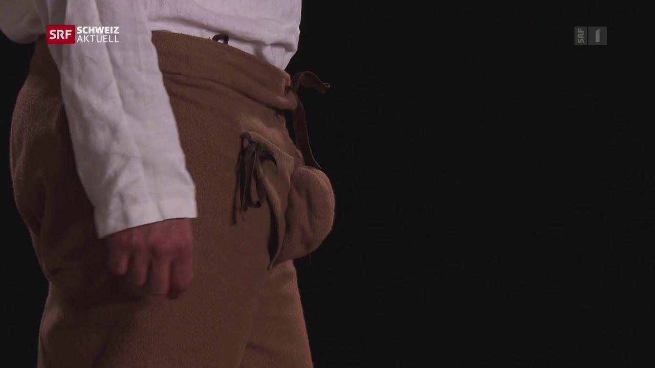 Männermode: Vom praktischen Hosenlatz zum protzigen Blickfang