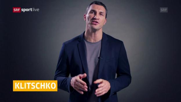 Video «Klitschko gibt seinen Rücktritt bekannt» abspielen